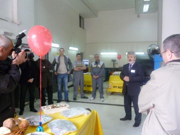ALFA I OMEGA HIT AUTA Zoran Dragoj u pozdravnom govoru