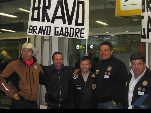 DAKARISTI I NAVIJAČI Marko Kopunović, Slobodan Jovanović, Peđa Milinković, Gabor Sagmajster i Robert Balog