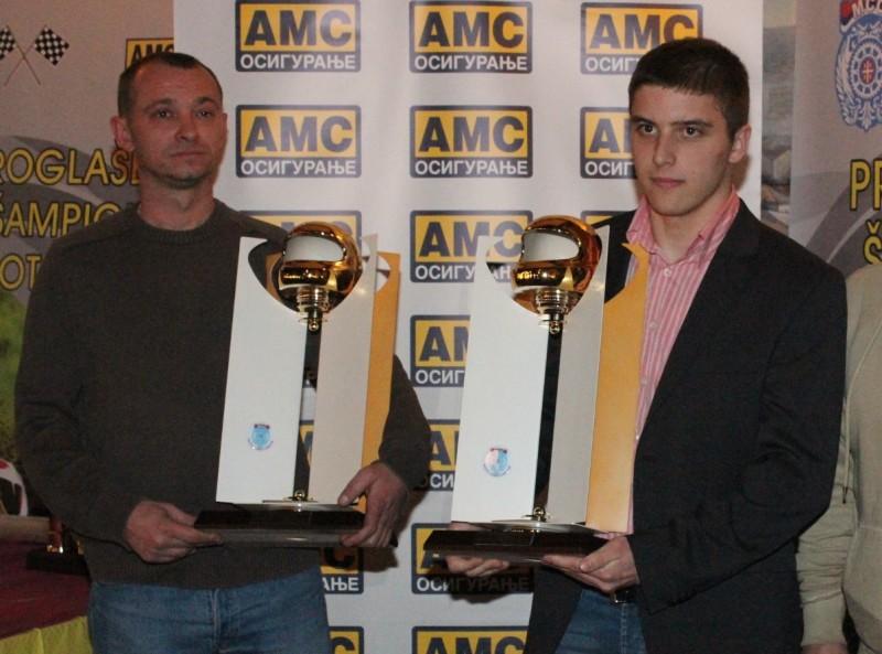 NAJUSPEŠNIJI Dejan Pavlović i Branko Antić