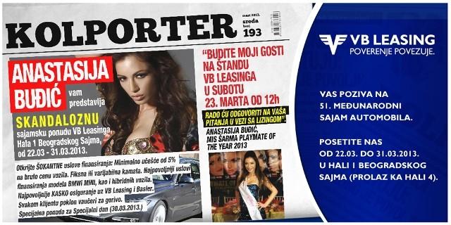 SAVET LIZINGA VREDAN Anastasija Buđić i VB leasing