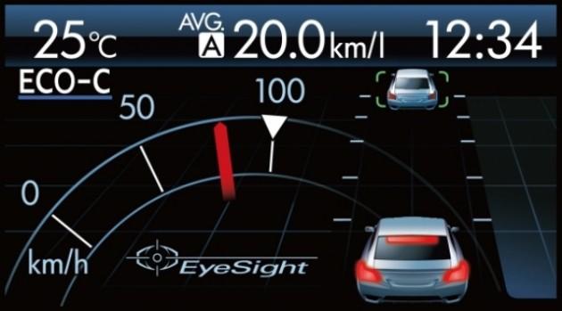 EyeSight warning system XVH1331s