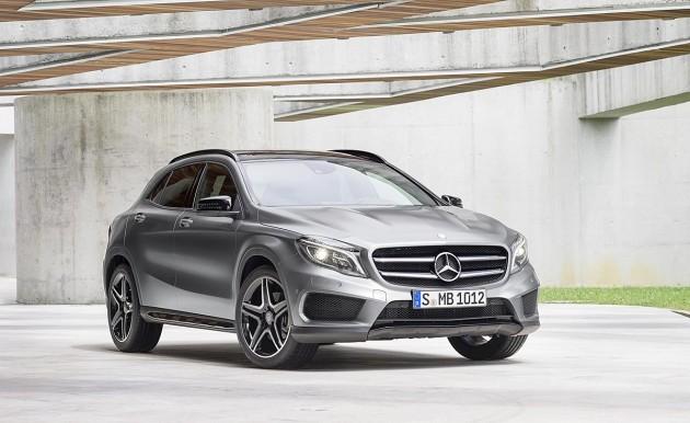 2014 Mercedes GLA 1