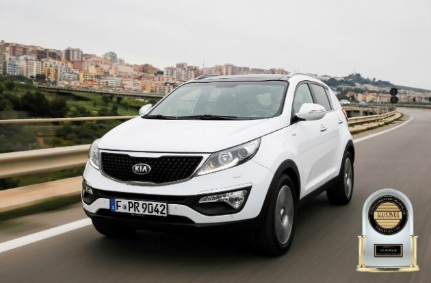 JD Power VOSS - Kia Sportage (Medium)