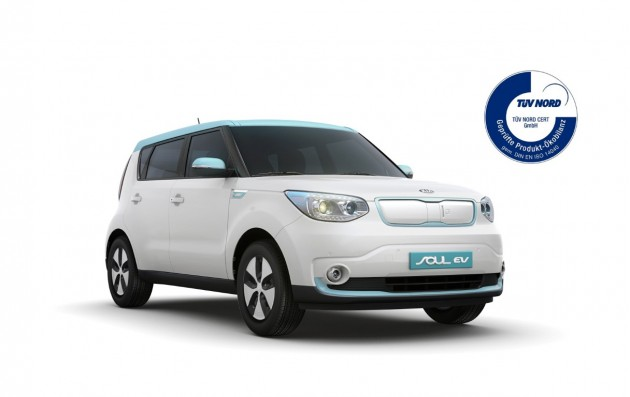 Kia Soul EV - TUV Nord certification 2 (Medium)