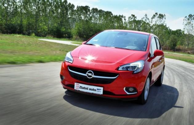 Opel Corsa Zlatni auto 2015