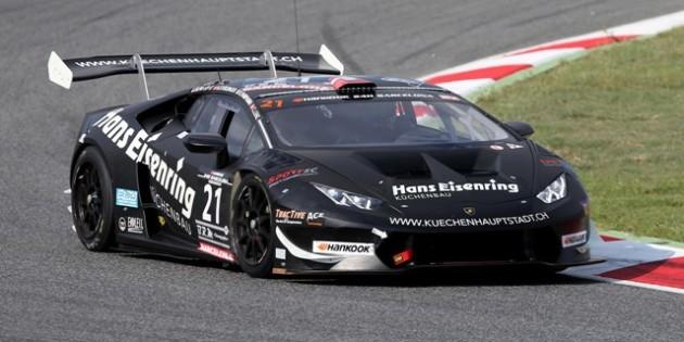Pavlovic Lamborghini Barcelona 24h