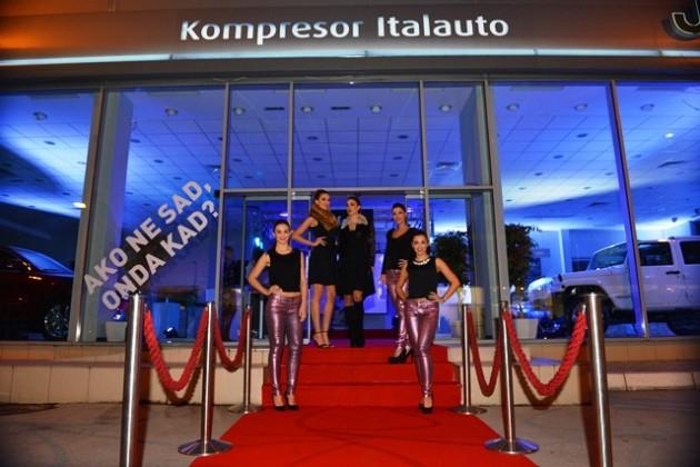 Auto kuca Kompresor najavila Dane visoke mode u Jeep i Alfa Romeo prodajnom salonu