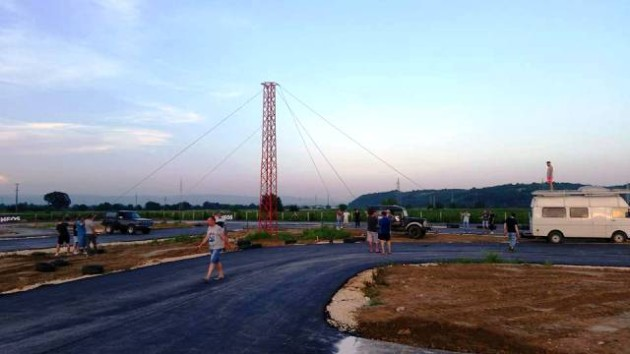 Karting staza Jagodina asfaltiranje