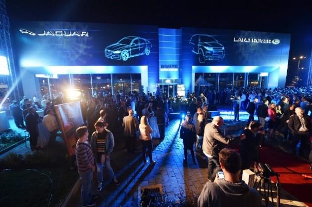 British Motors Jaguar Land Rover_otvaranje centra_1