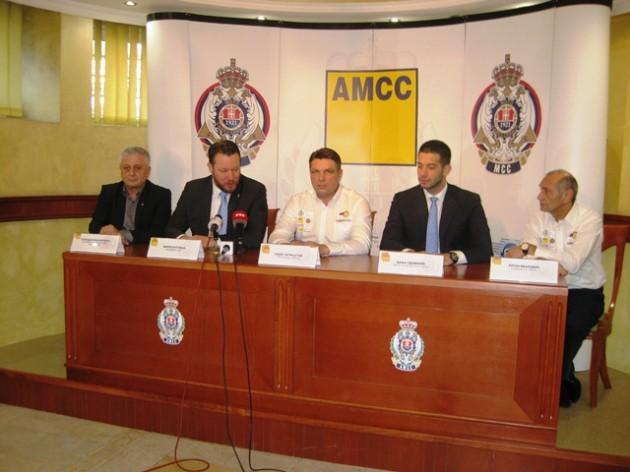 DESETI JUBILARNI DAKAR Božidar Miahilović, Mirko Butulija, Gabor Sagmajster, Vanja Udovičić i Zoran Ivanović