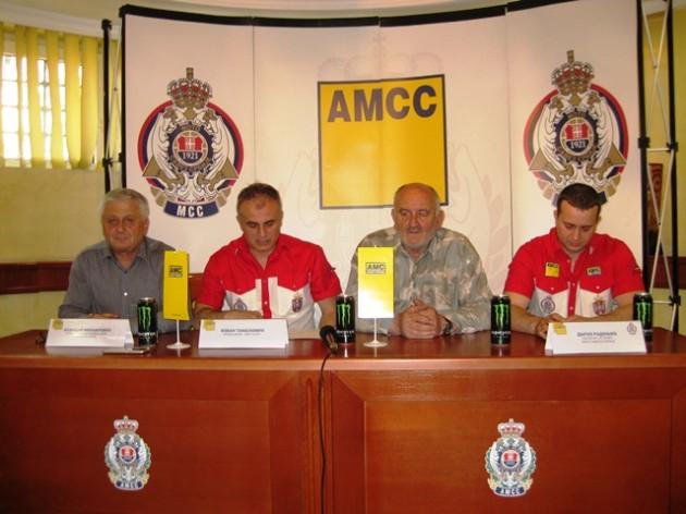 Božidar Miahailović, Slobodan Tanasković, Ljubiša Kokotović i Drako Radonjić