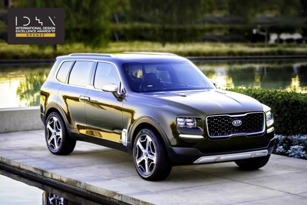 Kia Telluride IDEA award 05 07 2017