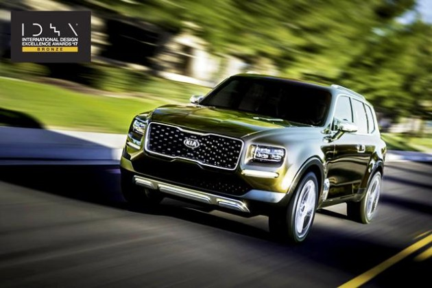 Kia Telluride IDEA award 2 05 07 2017