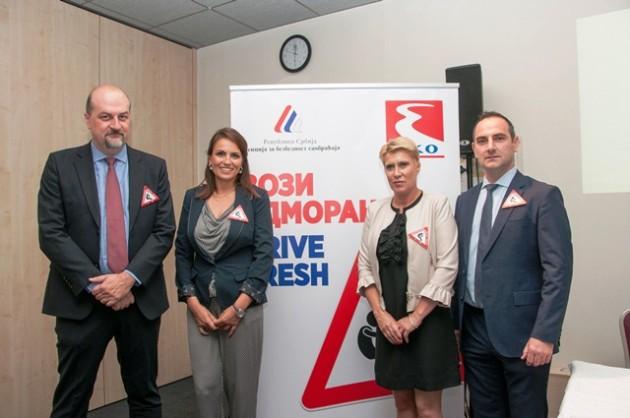 Vuk Radovic, Marija Lukic, Jasmina Milosevic i Vassilis Makris