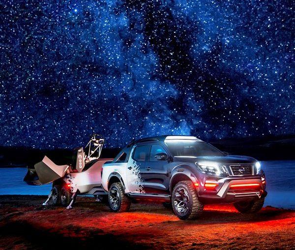 Nissan unveils mobile space observatory: the Nissan Navara Dark Sky Concept