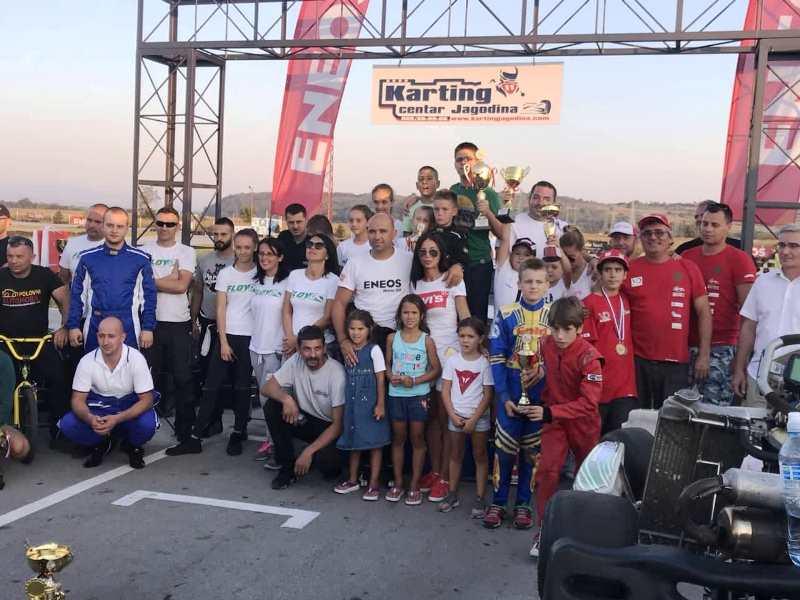 SSKS na finalnoj trci u Jagodini