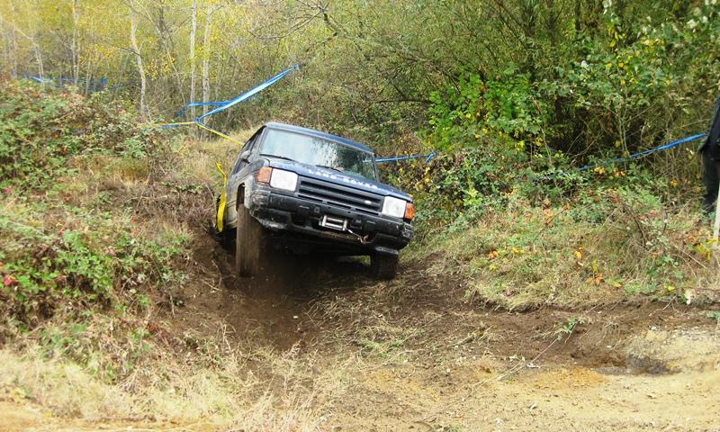 Land Rover na IV brzinskom ispitu