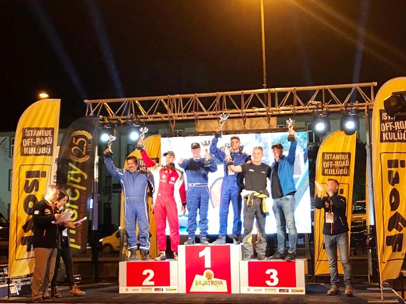 Pobednički podijum u Turskoj