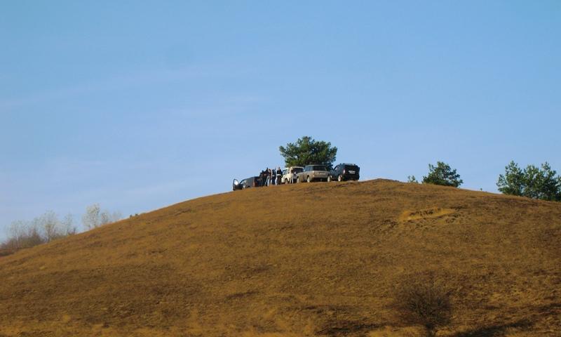 Na vrh brda BG off road družina