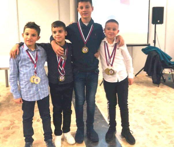Petar Bogatinovski, Andrej Dobrota, Filip Jenić i Nemanja Jovanović