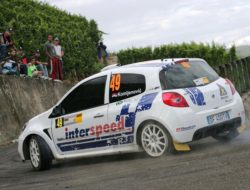 Milos Komljenovic Junior WRC Nemacka 2007