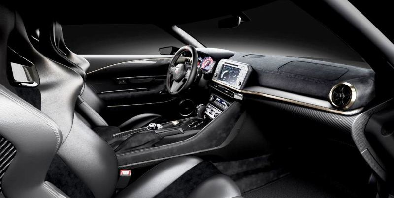 Nissan GT-R50 Production Version - Interior