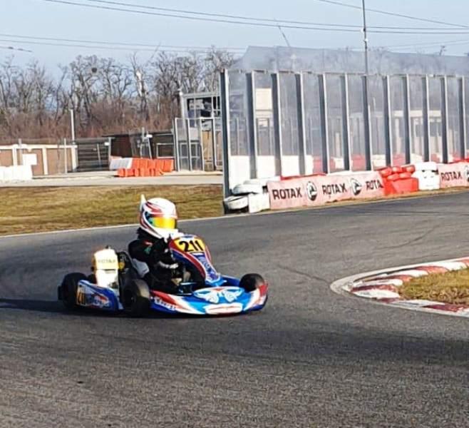 Neca Jovanovic sa novim motorom