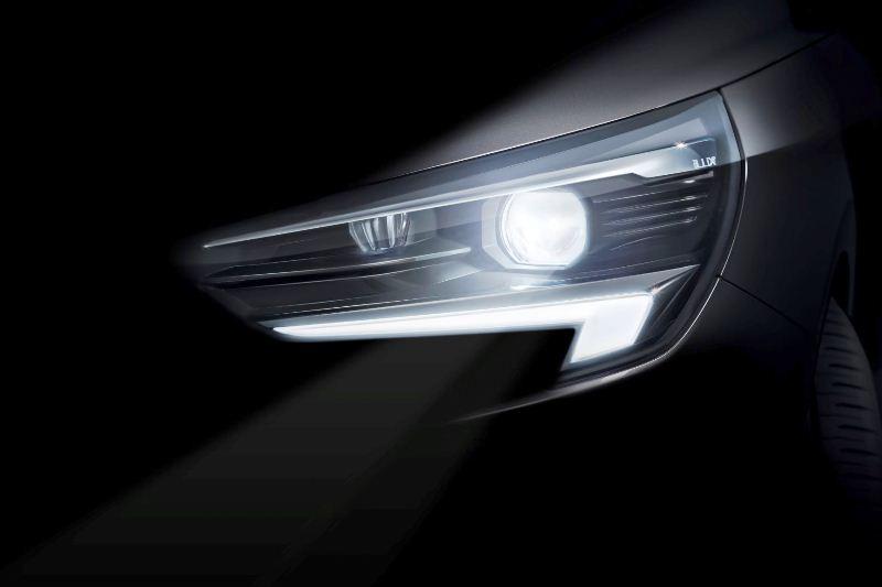 Opel-Corsa-IntelliLux-LED-matrix-light