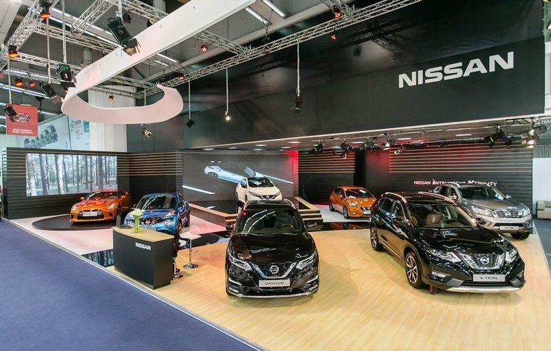 Nissan štand