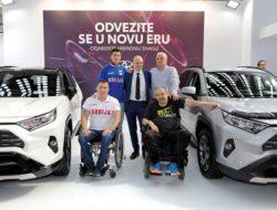 Paraolimpijci na štandu Toyote_1