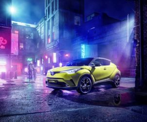 C-HR Neon Lime front