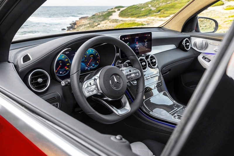 Mercedes-Benz GLC Coupé (C253), 2019