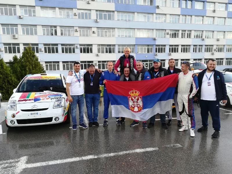 Reli reprezentacija Srbije u Bugarskoj
