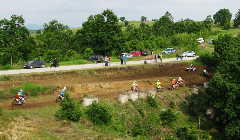 II trka, prvi krug MX 2