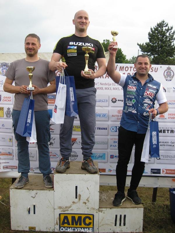 MX 2 Viktor Lang, Vlade Rajević i Dejan Paunović