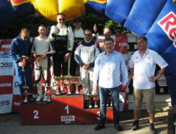 Pobednici u generalnom plasmanu sa Ljubom Šubarom i Aleksandrom Dimuševskim
