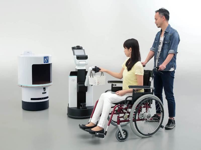 toyota robots_tokyo 2020_2