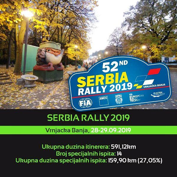 52. Srbija reli