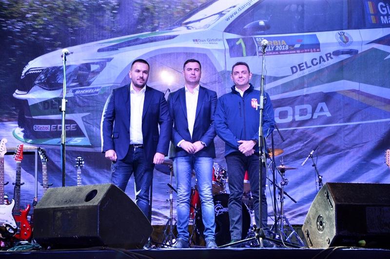 Dejan Stojić, Boban Đurović i Aleksandar Vulin