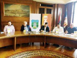 Press Stari dvor M. Brkić, Ž. Milosavljević, N. Rijačić, S. Lazarac i D. Petrović