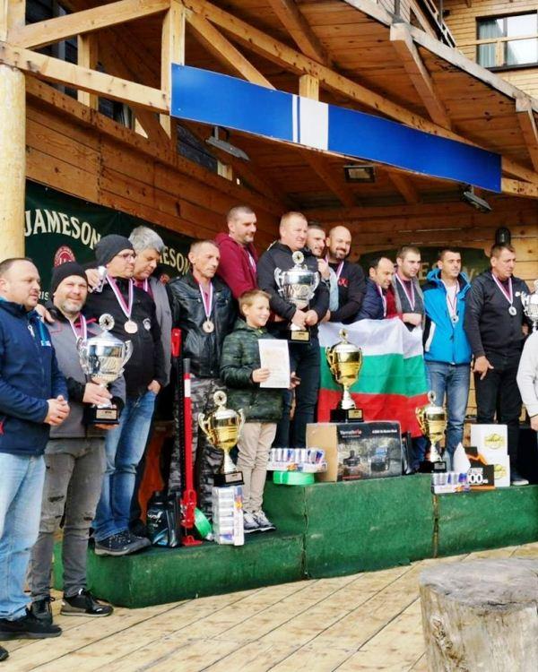 13. Serbian trophy hard i advenčer pobednički podijum