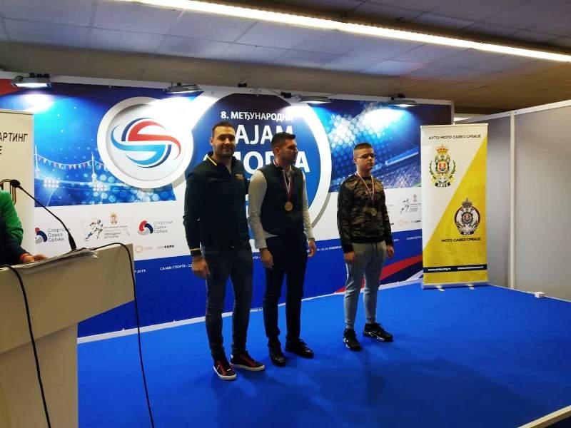Nemanja Milovanović, Luka Purčar i Uroš Stevanović
