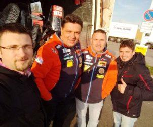 Ekipa za Dakar 2020 Zakinski, Sagmajster, Milodanović i Đeneš