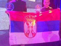 Filip Jenič i Nemanja Jovanović proglašenje karting CEZ Tirana