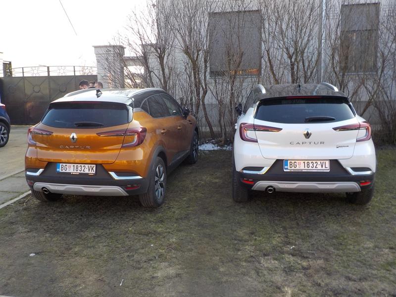 Lider B SUV segmenta Renault Captur