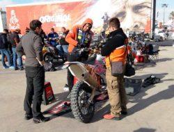 Servisiranje u kampu za nastavak Dakara 1