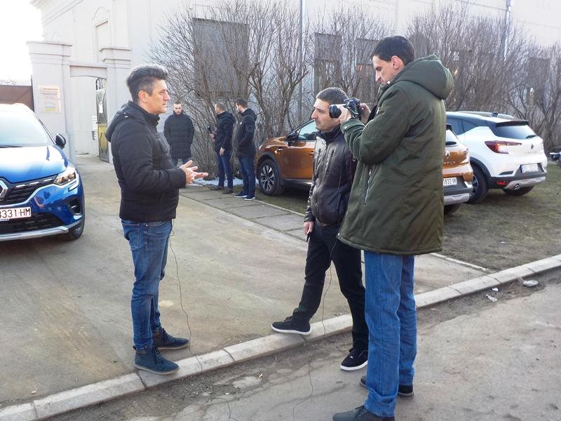 Vladimir Jeremić prezentuje novi Captur u Mokrinu