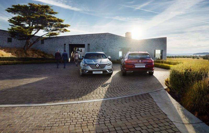 New Renault TALISMAN and New Renault TALISMAN ESTATE