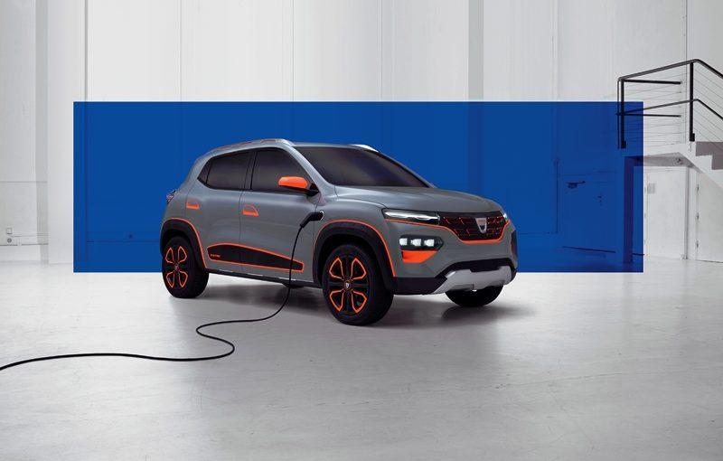 2020 - Dacia SPRING show car