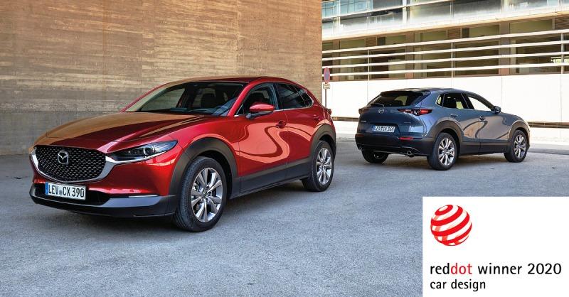 Mazda CX-30 Red Dot Design PR